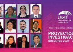 Conoce a los ganadores del Concurso Interno Proyectos de Investigación Docentes USAT 2021-II