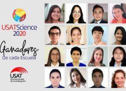 Conoce a los estudiantes ganadores del USATScience 2020