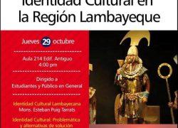 Coloquio: Identidad Cultural en la Región Lambayeque