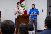 IES USAT y EQWIP HUBS desarrollan la Conferencia: El impacto del voluntariado internacional en el emprendimiento juvenil