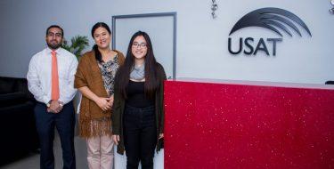 Representantes USAT participan en curso del BCRP