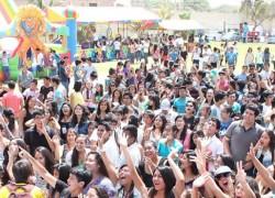 Estudiantes celebraron su ingreso a la USAT