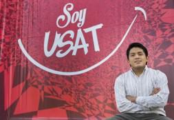 Estudiante USAT obtiene beca nacional de liderazgo y emprendimiento