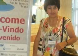 Maestrante de la Escuela de Postgrado USAT es invitada a CLADEA 2013