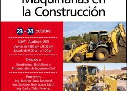 Ciclo de conferencias: Maquinarias en la Construcción