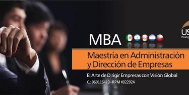 Maestría en Administración y Dirección de Empresas (MBA)