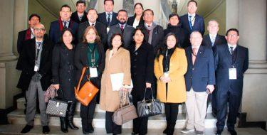 Docente de la Facultad de Derecho USAT participó en Curso de la Pontificia Universidad Católica de Chile