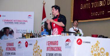 """USAT y Cumbre realizaron el """"I Seminario Internacional de Turismo, Hotelería y Gastronomía"""""""