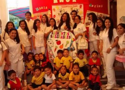 Estudiantes USAT realizan actividades preventivas de salud bucal