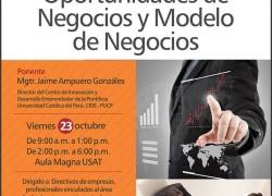 Curso-Taller: Oportunidades de Negocio y Modelo de Negocios