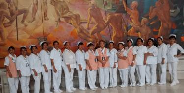 Estudiantes de Enfermería realizaron pasantía en México