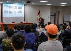 Estudiantes de Ingeniería Industrial USAT participan de la charla: Proyecto de Modernización de la Refinería Talara