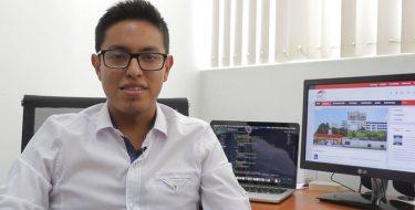 Estudiante de Ingeniería de Sistemas USAT desarrolla plataforma web para informar sobre los casos de coronavirus en el Perú