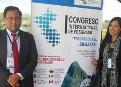USAT presente en Congreso Internacional de Postgrado del Perú