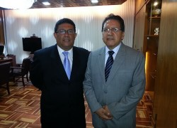Profesores de derecho USAT se reúnen con fiscal de la nación