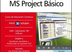 Curso: MS Project Básico