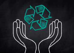 El Reciclaje en un mundo con  menos recursos y más basura