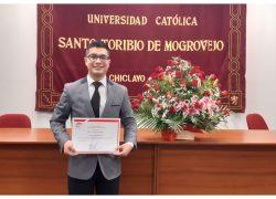 Secigrista de Derecho USAT obtiene máxima calificación en cinco cursos del Centro de Estudios en Justicia y Derechos Humanos