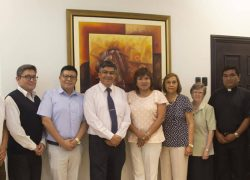 Autoridades de la USAT junto a seis universidades católicas crean Red Peruana de Interculturalidad ODUCAL