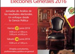 Jornadas de análisis de los resultados electorales. Un enfoque desde la Ciencia Política.
