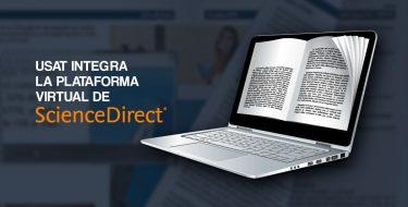 USAT integra la plataforma virtual de ScienceDirect