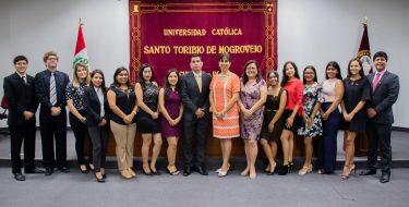 Estudiantes de la Facultad de Derecho USAT ocupan puestos en el SECIGRA 2020