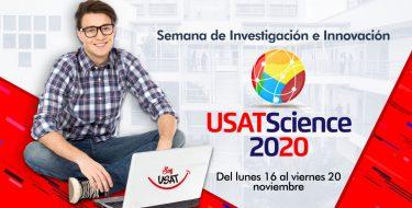 Participa de la Semana de la Investigación e Innovación USATSciencie 2020