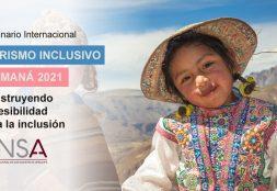 Estudiante USAT participa en Seminario Internacional de Turismo Inclusivo Camaná 2021