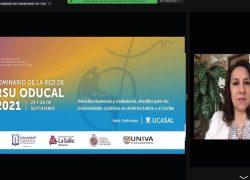 USAT participa en el V Seminario de la Red de Responsabilidad Social de la ODUCAL