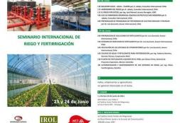 """Programan """"Seminario Internacional de Riego y Fertirrigación"""""""