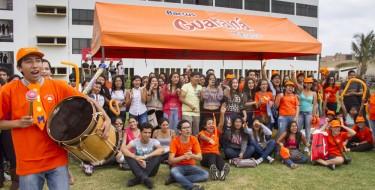 Ciencias empresariales celebra Semana Naranja