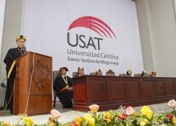 USAT presenta a más de 500 egresados como nuevos titulados