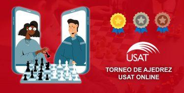 Estudiantes USAT ganan torneo interno de ajedrez online