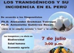 Panel Fórum: Los Transgénicos y su incidencia en el Perú
