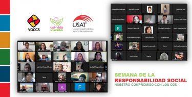 USAT clausura Semana de la Responsabilidad Social Universitaria con foro sobre experiencias de biohuertos comunitarios