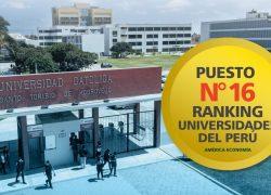 La USAT es una de las mejores universidades del Perú según el ranking de la revista AméricaEconomía