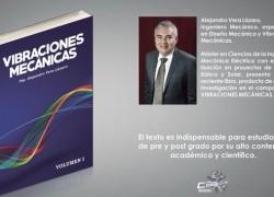 Profesor USAT publica libro sobre vibraciones mecánicas