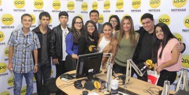 Futuros Comunicadores USAT continúan programa de visita a medios