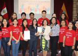 VOCCS – USAT recibe reconocimiento del Gobierno Regional