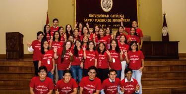Voluntarios VOCCS USAT Juramentan Compromiso con la Sociedad